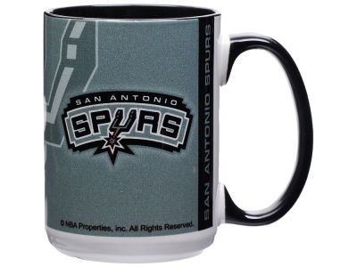 San Antonio Spurs 15oz Super Fan Inner Color Mug