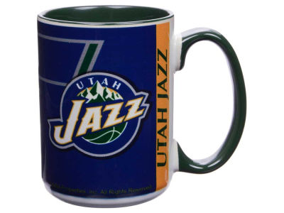 Utah Jazz 15oz Super Fan Inner Color Mug