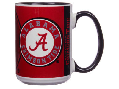 Alabama Crimson Tide 15oz Super Fan Inner Color Mug