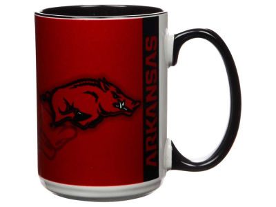Arkansas Razorbacks 15oz Super Fan Inner Color Mug