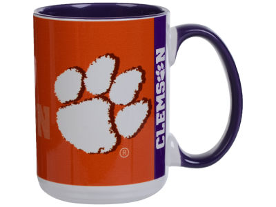 Clemson Tigers 15oz Super Fan Inner Color Mug