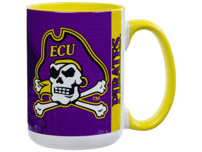 East Carolina Pirates 15oz Super Fan Inner Color Mug