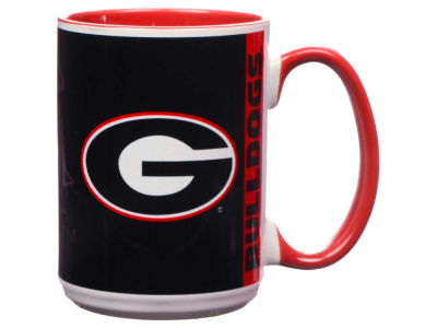 Georgia Bulldogs 15oz Super Fan Inner Color Mug