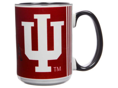 Indiana Hoosiers 15oz Super Fan Inner Color Mug