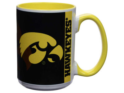 Iowa Hawkeyes 15oz Super Fan Inner Color Mug