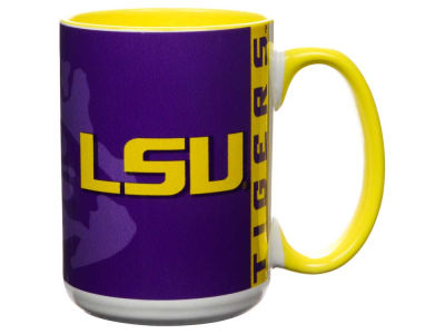 LSU Tigers 15oz Super Fan Inner Color Mug
