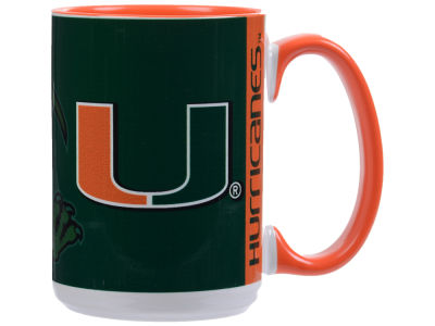 Miami Hurricanes 15oz Super Fan Inner Color Mug