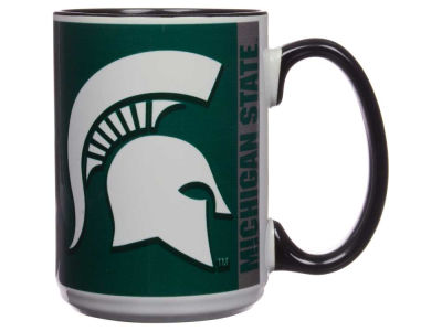 Michigan State Spartans 15oz Super Fan Inner Color Mug