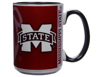 Mississippi State Bulldogs 15oz Super Fan Inner Color Mug