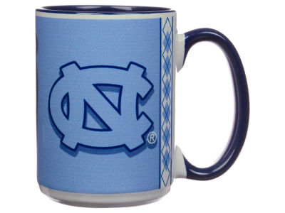 North Carolina Tar Heels 15oz Super Fan Inner Color Mug