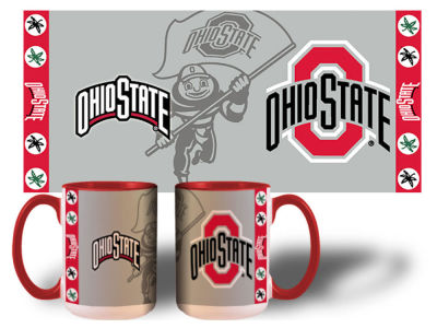 Ohio State Buckeyes 15oz Super Fan Inner Color Mug