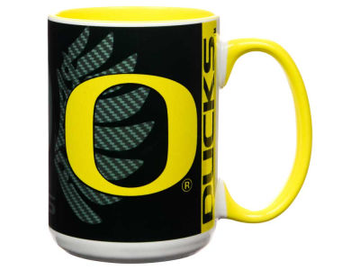 Oregon Ducks 15oz Super Fan Inner Color Mug