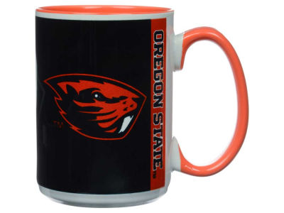 Oregon State Beavers 15oz Super Fan Inner Color Mug