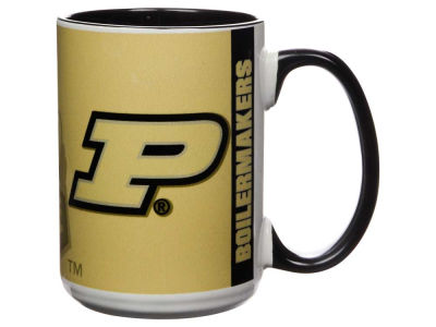Purdue Boilermakers 15oz Super Fan Inner Color Mug