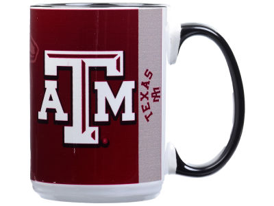 Texas A&M Aggies 15oz Super Fan Inner Color Mug