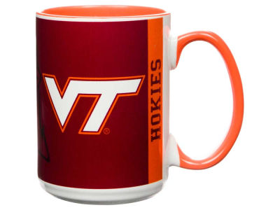 Virginia Tech Hokies 15oz Super Fan Inner Color Mug