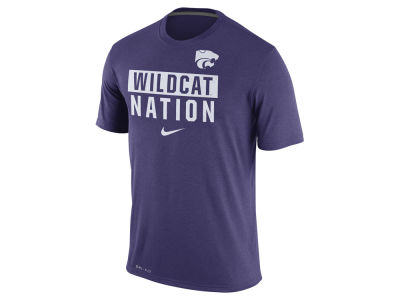 Kansas State Wildcats Nike NCAA Men's Legend Local Verbiage Crew T-Shirt