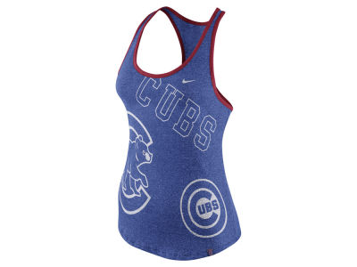 Chicago Cubs Nike MLB Women's Marled Tank