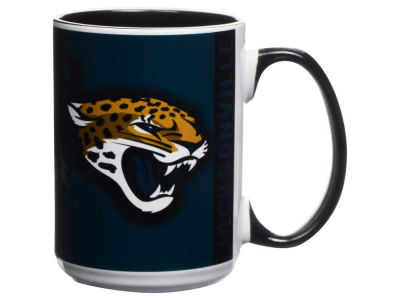 Jacksonville Jaguars 15oz Super Fan Inner Color Mug