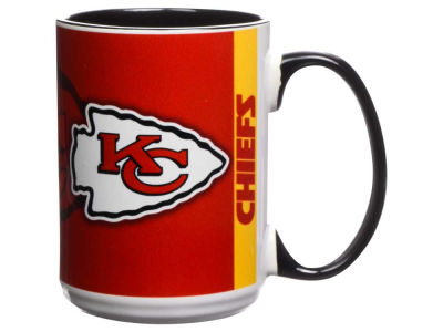 Kansas City Chiefs 15oz Super Fan Inner Color Mug