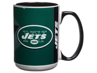 New York Jets 15oz Super Fan Inner Color Mug