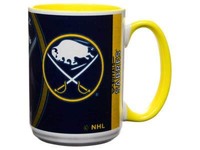 Buffalo Sabres 15oz Super Fan Inner Color Mug
