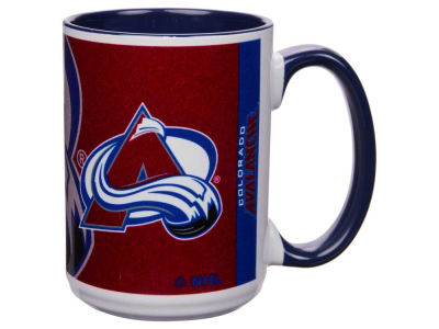 Colorado Avalanche 15oz Super Fan Inner Color Mug