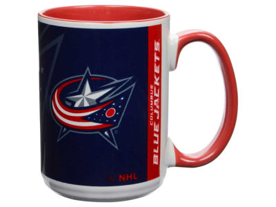Columbus Blue Jackets 15oz Super Fan Inner Color Mug