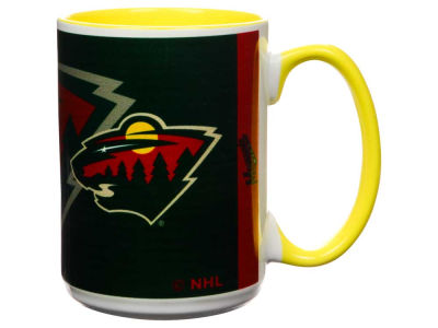 Minnesota Wild 15oz Super Fan Inner Color Mug