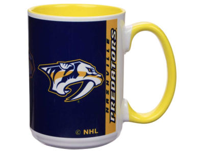 Nashville Predators 15oz Super Fan Inner Color Mug