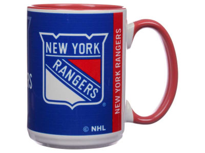 New York Rangers 15oz Super Fan Inner Color Mug