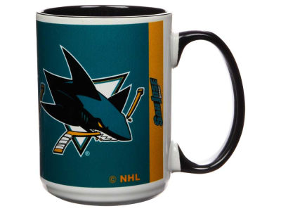 San Jose Sharks 15oz Super Fan Inner Color Mug