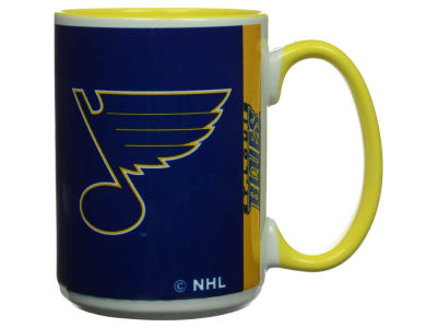 St. Louis Blues 15oz Super Fan Inner Color Mug