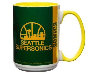 Seattle SuperSonics 15oz Super Fan Inner Color Mug
