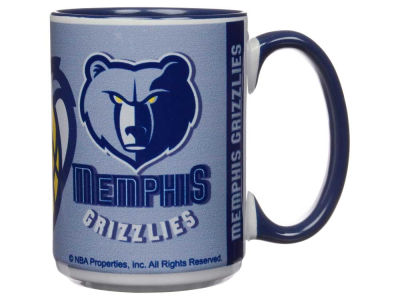 Memphis Grizzlies 15oz Super Fan Inner Color Mug