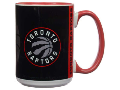 Toronto Raptors 15oz Super Fan Inner Color Mug