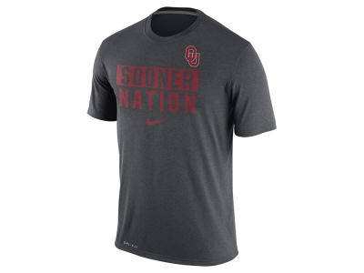 Oklahoma Sooners Nike NCAA Men's Legend Local Verbiage Crew T-Shirt