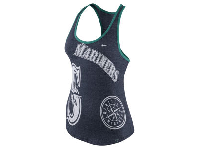 Seattle Mariners Nike MLB Women's Marled Tank