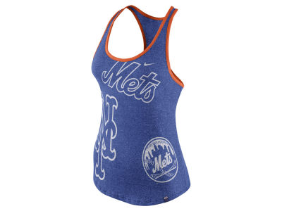 New York Mets Nike MLB Women's Marled Tank