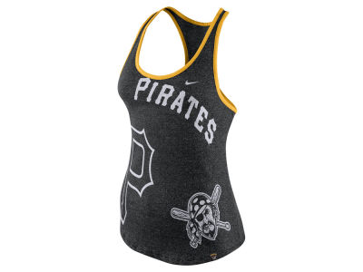 Pittsburgh Pirates Nike MLB Women's Marled Tank
