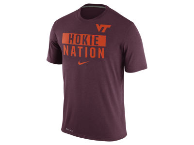 Virginia Tech Hokies Nike NCAA Men's Legend Local Verbiage Crew T-Shirt