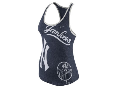 New York Yankees Nike MLB Women's Marled Tank