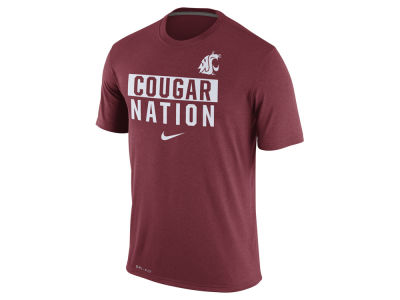 Washington State Cougars Nike NCAA Men's Legend Local Verbiage Crew T-Shirt