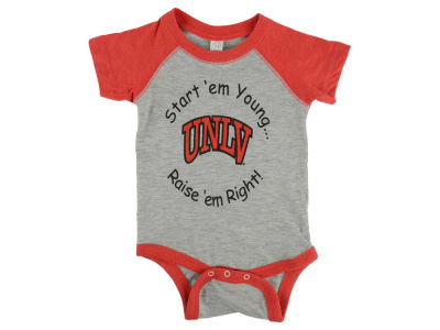 UNLV Runnin Rebels NCAA Infant Raglan Sleeve Romper
