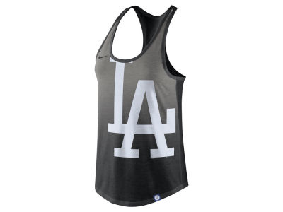 Los Angeles Dodgers Nike MLB Women's Triblend Fade Tank