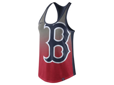 Boston Red Sox Nike MLB Women's Triblend Fade Tank