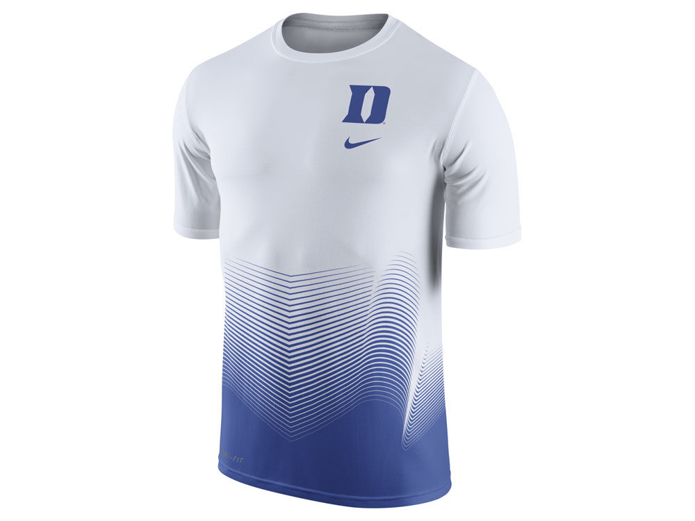 013cbd30e Duke Blue Devils Nike NCAA Men's Dri-Fit Basketball Player T-Shirt |  lids.com