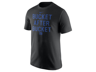 Duke Blue Devils Nike NCAA Men's Basketball Buckets Verbiage T-Shirt
