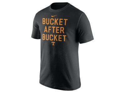 Tennessee Volunteers Nike NCAA Men's Basketball Buckets Verbiage T-Shirt