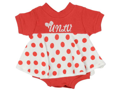 UNLV Runnin Rebels NCAA Infant Polka Dot Dress
